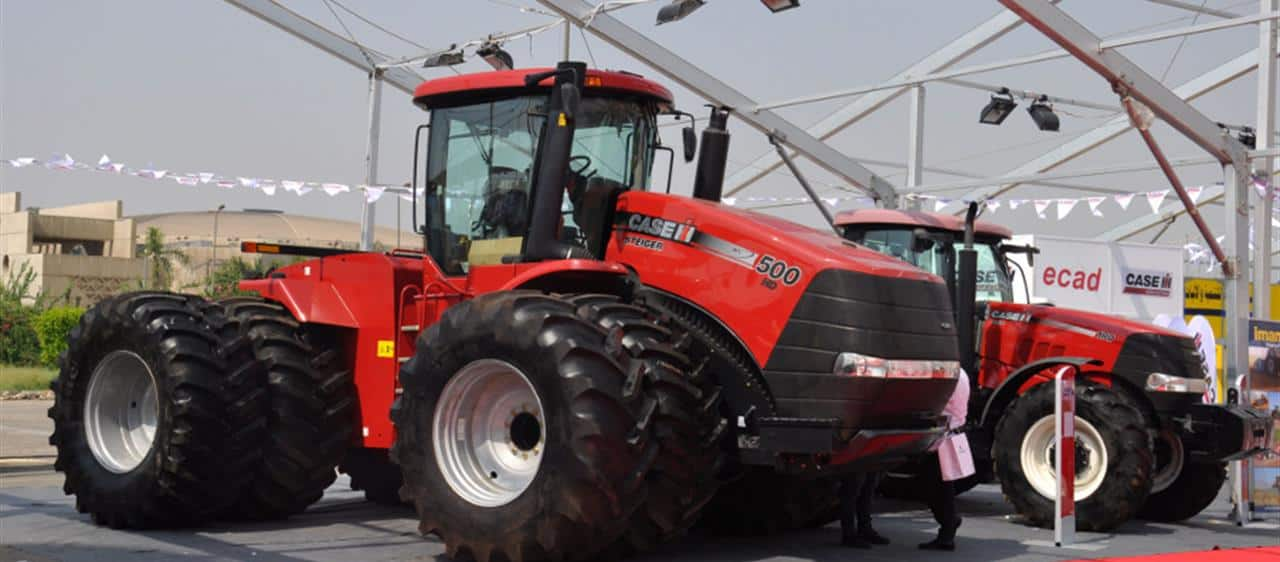 Case IH showcases its tractor offering at Sahara Fair in Egypt
