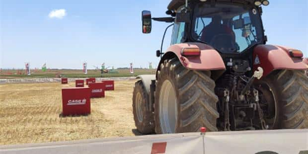 Case IH explica los beneficios de sus productos en Demoagro 2019