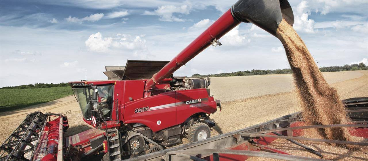 Case IH's Axial-Flow<sup>®</sup> 9230 was the only combine to receive an IMMA award at the Cereals event