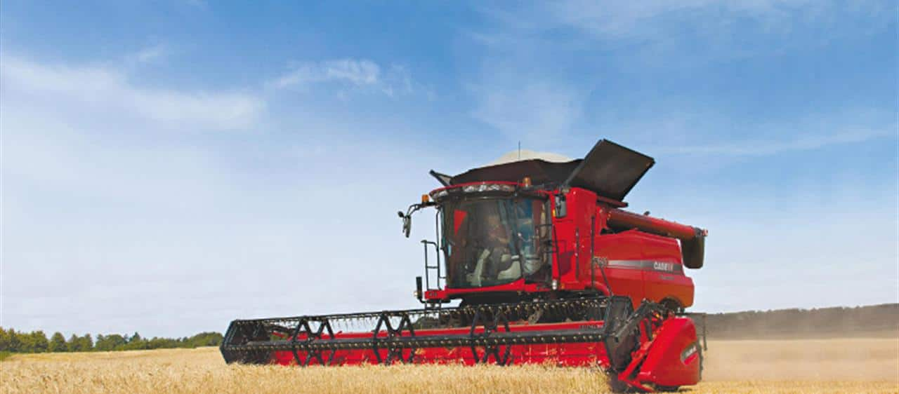 New Case IH Axial-Flow<sup>®</sup> 140 combines to be launched in Europe