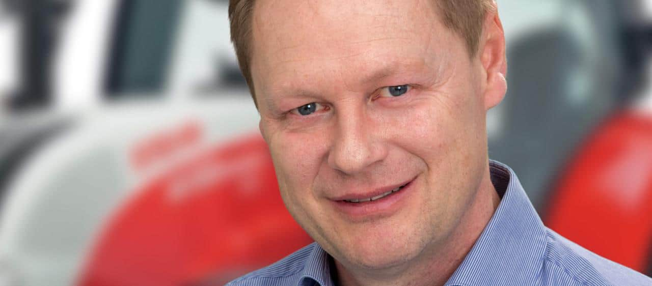 Extended responsibility for Christian Huber: Vice President Global Product Management for whole range of CASE IH and STEYR tractors