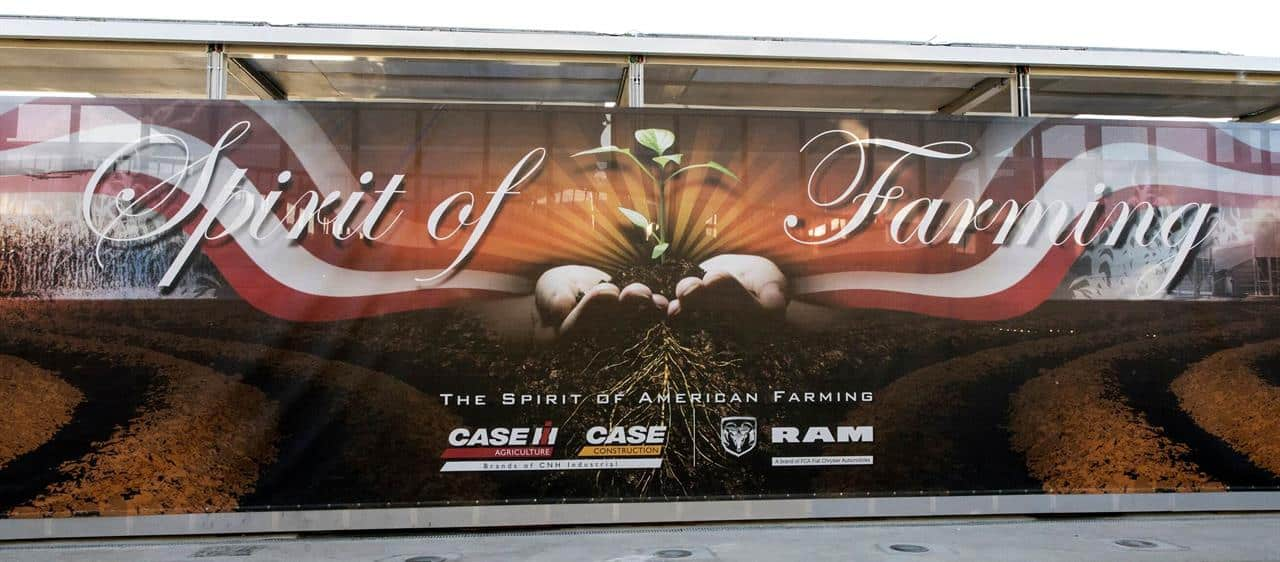 Showcasing CASE IH and CASE contributions to 'Feeding the Planet Energy for Life'