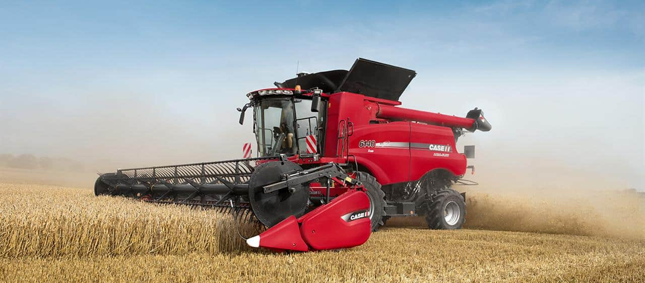 New Case IH 140 combine series: Major boost in productivity