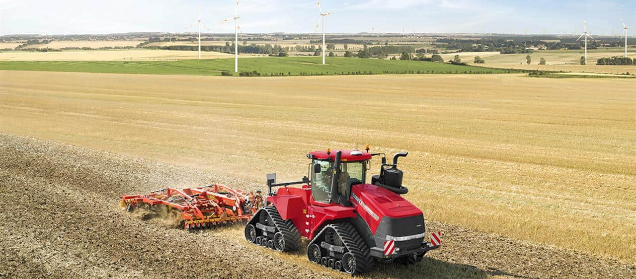 Increased added value through efficiency boost for the Case IH Quadtrac