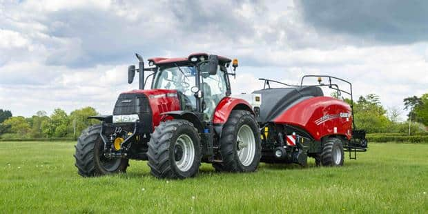 Consistent, high density bales with the LB Case IH baler
