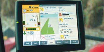 Full-colour, integrated touchscreen
