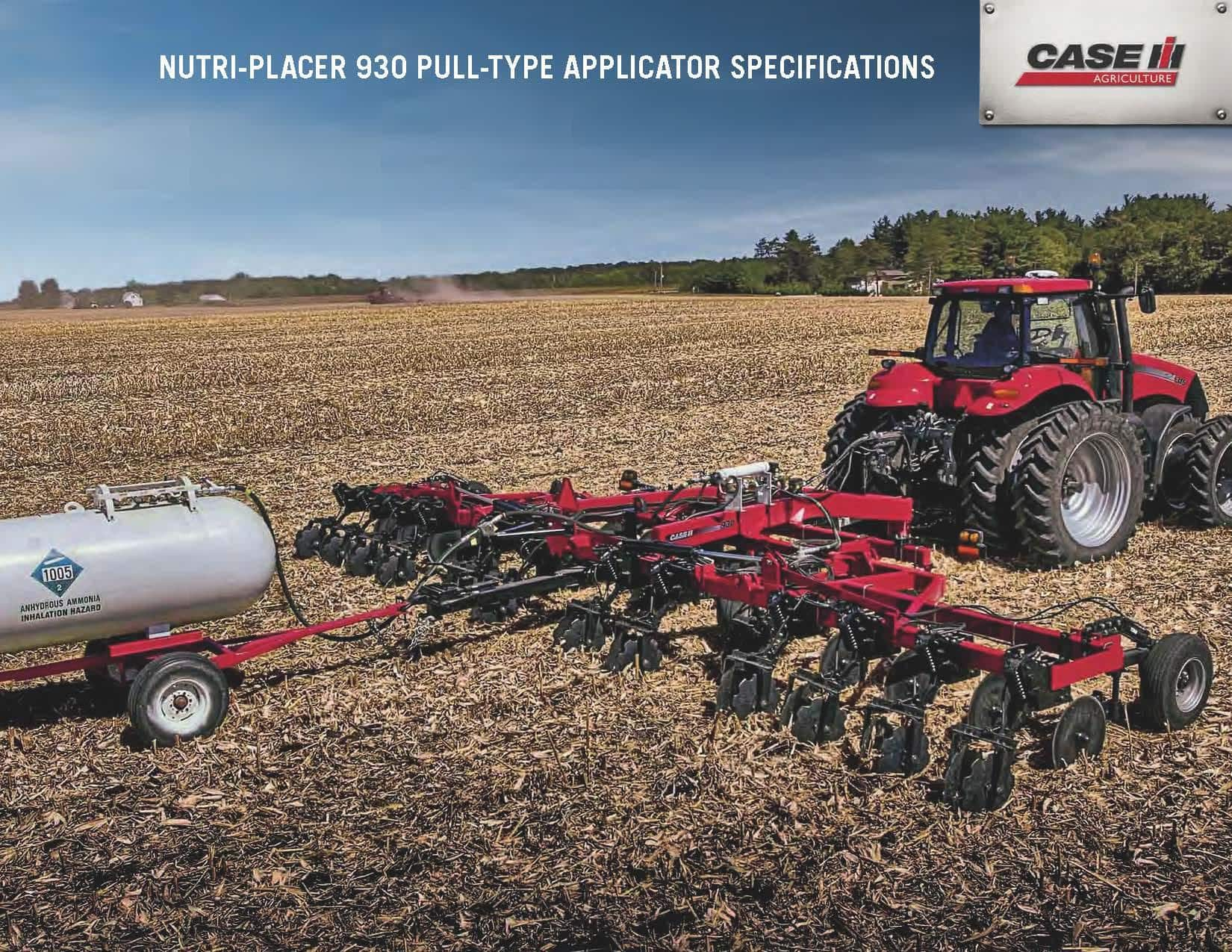 Fertilizer Applicators - Nutri-Placer 930 - SPEC