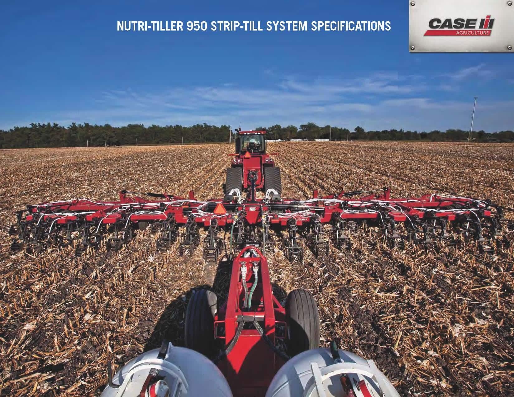 Fertilizer Applicators - Nutri-Tiller 950 - SPEC