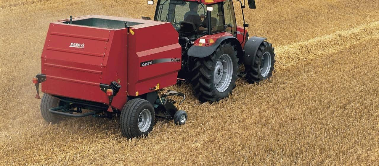 Round Baler RB 3 Series fixed chamber-Perfectly formed bales