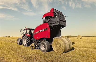 Round Balers RB 4 variable chamber-Densite doublee en option