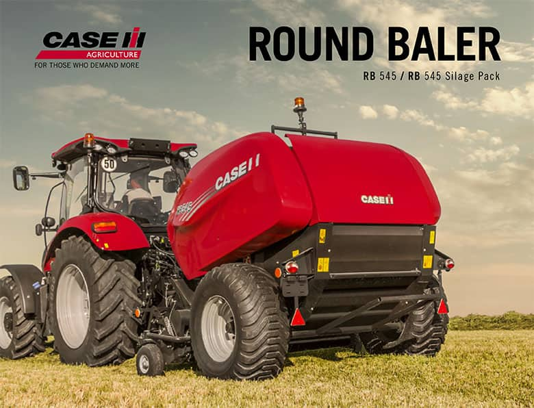 Round balers RB 545