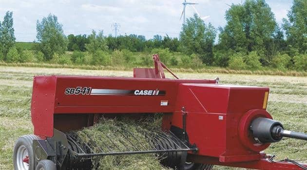 Small Square Balers SSB Series-Reliable ties and twists
