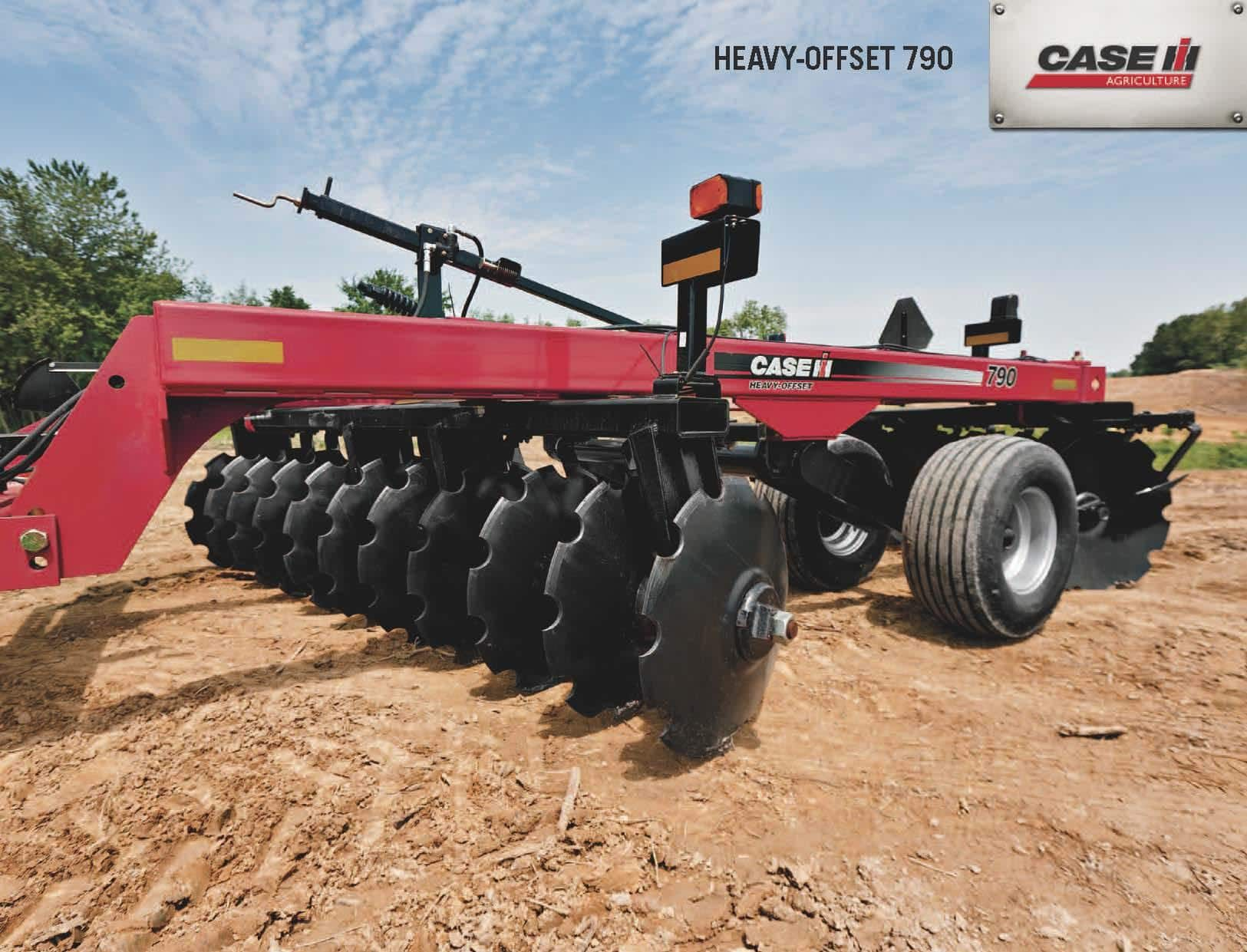 Disk harrows - Heavy offset - SPEC