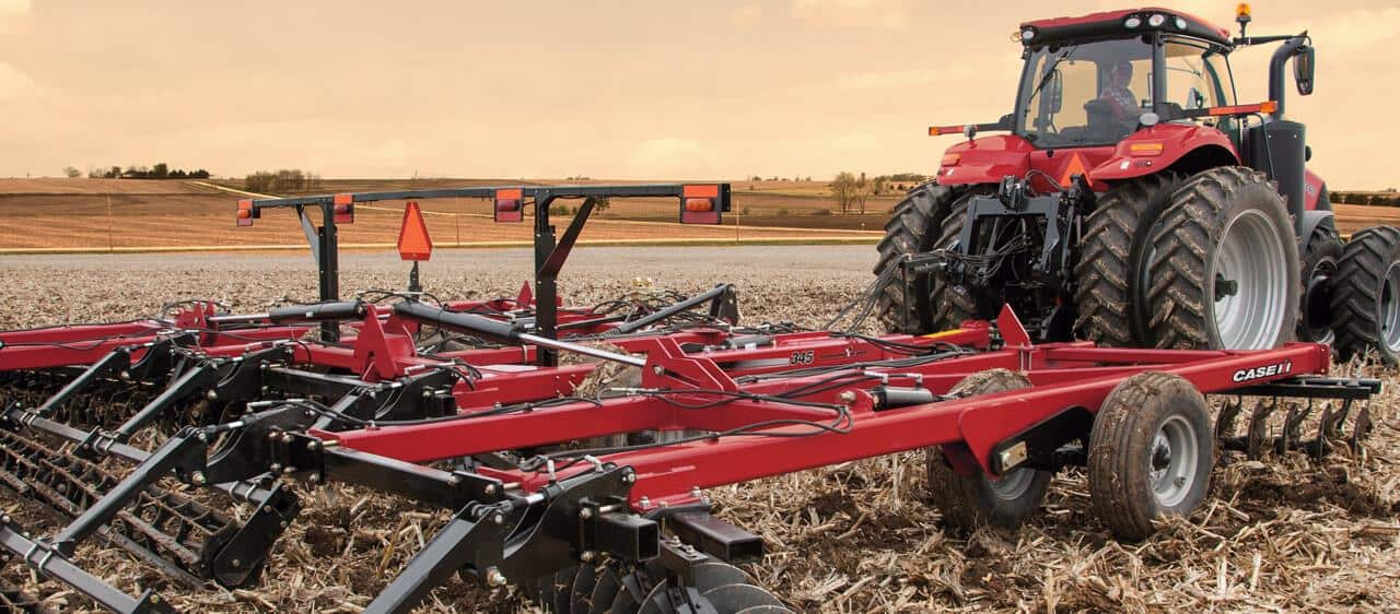 True-Tandem Disk Harrows