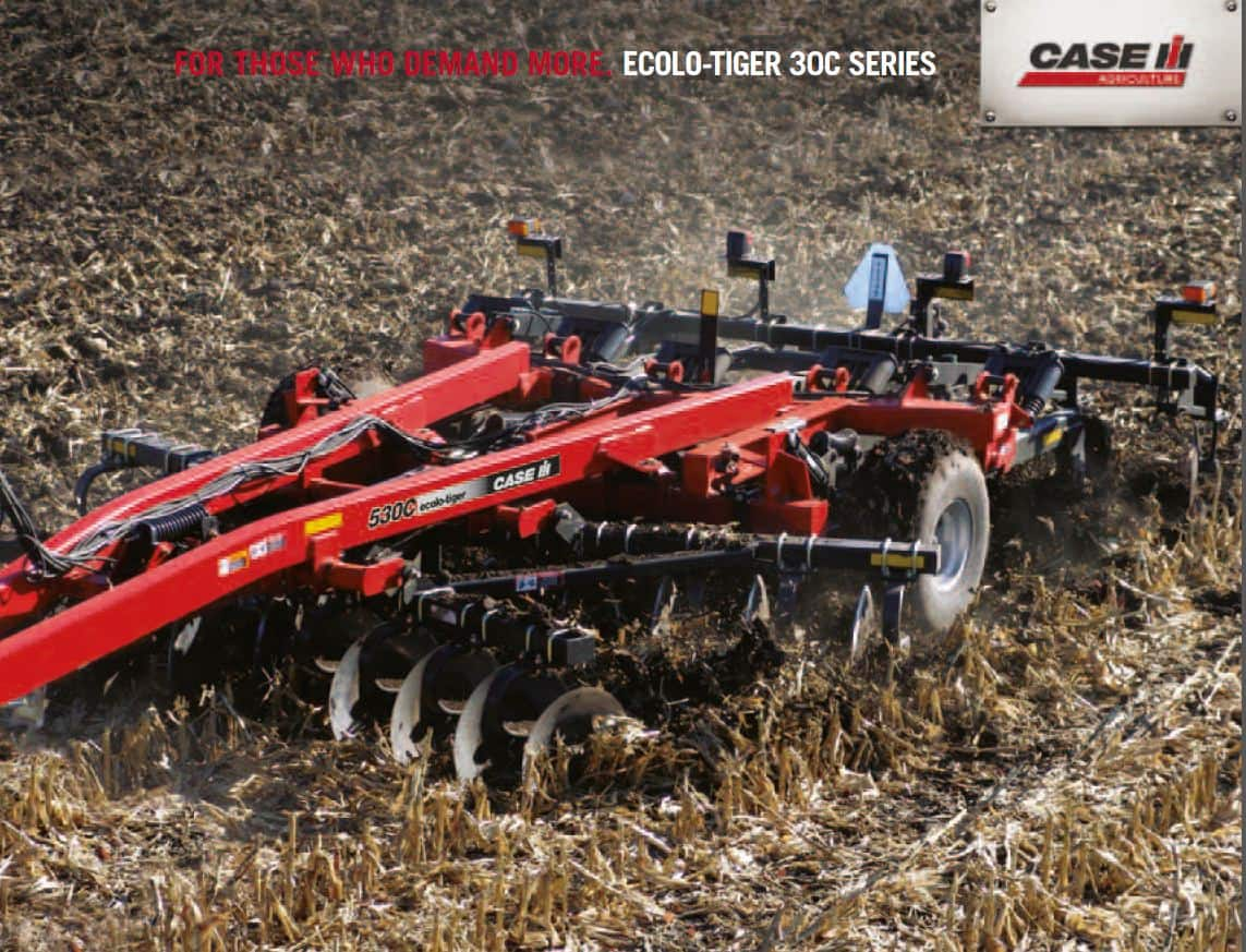 Primary Tillage - Ecolo Tiger 30C SPEC