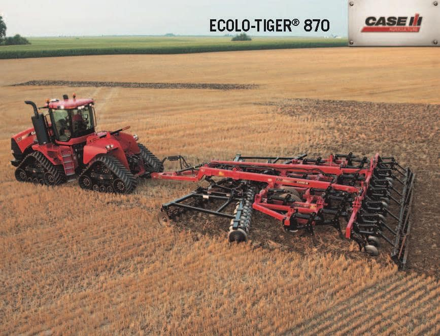 Primary Tillage - Ecolo Tiger 870