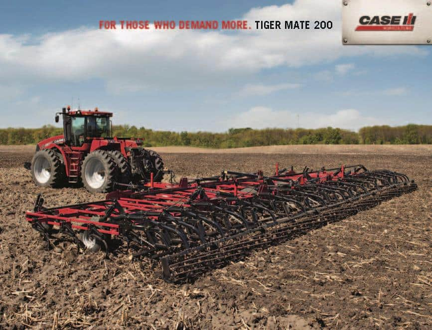 Seedbed Preparation - Tiger Mate 200