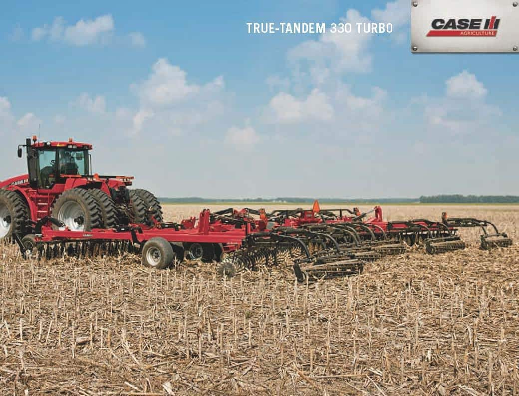 Vertical Tillage - True Tandem 330 Turbo
