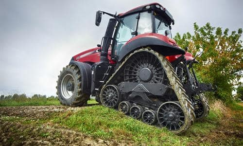 REDUCED SOIL DISTURBANCE WITH INCREASED TRACTION