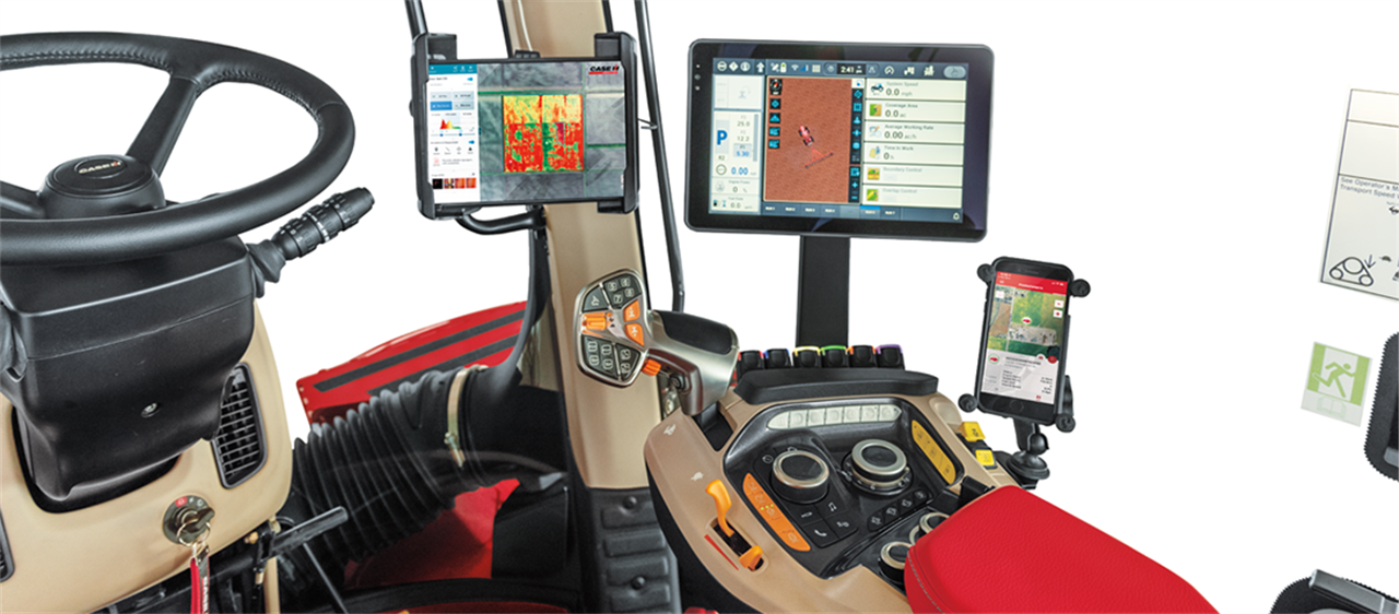Quadtrac / Steiger AFS Connect™ series_COMFORT