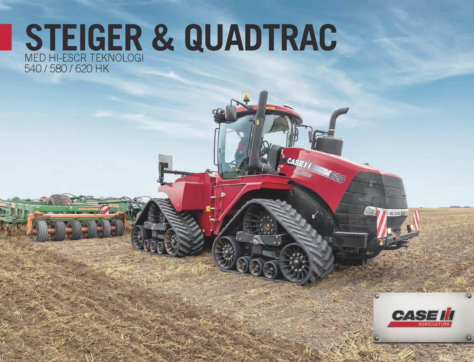Steiger & Quadtrac Launch Flyer