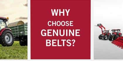 A genuine belt can save any situation.