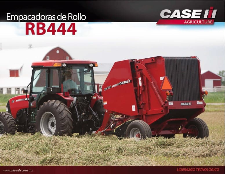 Empacadoras de Rollo RB444