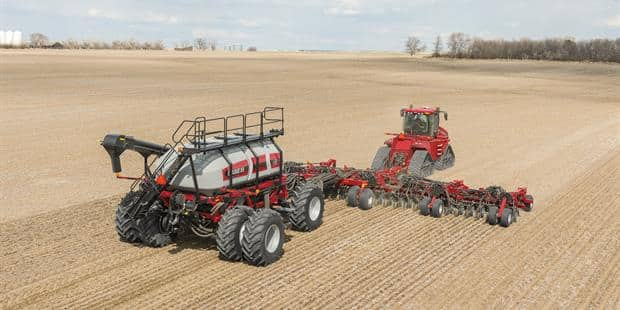 The one-pass solution for seeding and fertilizing
