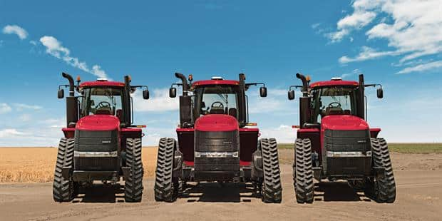 High-speed Steiger® and Magnum™ Rowtrac™ design