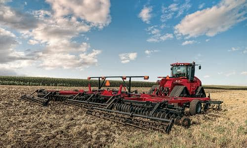 Create a level, high speed seedbed