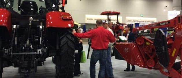 NCBA is a great place to learn about the latest equipment from Case IH