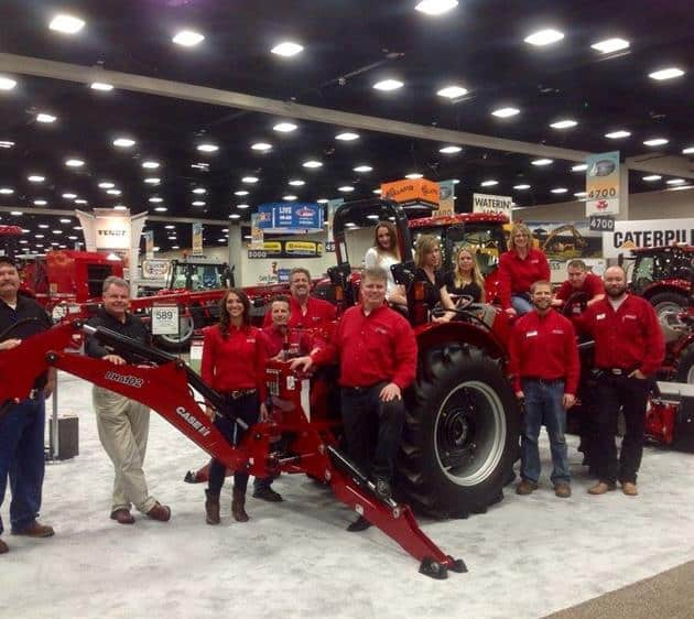 The Case IH Crew at NCBA 2016