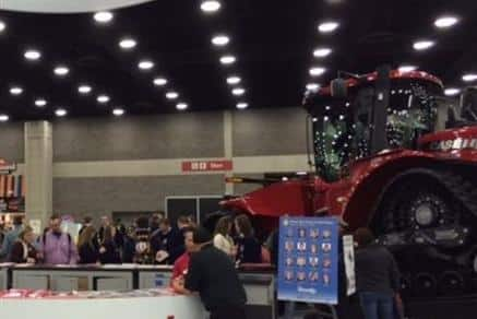 FFA 2015 - The Magnum Rowtrac at the Case IH booth