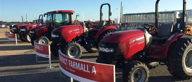 Farmalls at Sunbelt Ag Expo 2017