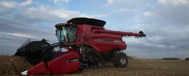 Case IH Axial-Flow® combines lead the industry with carefully matched systems that ensure productivity.