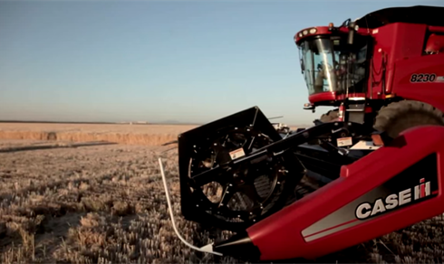 Efficient Power: Case IH Axial-Flow Combines