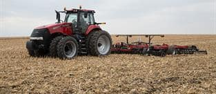 Case IH Magnum Series Tractors: The power you want. The emissions you don't.