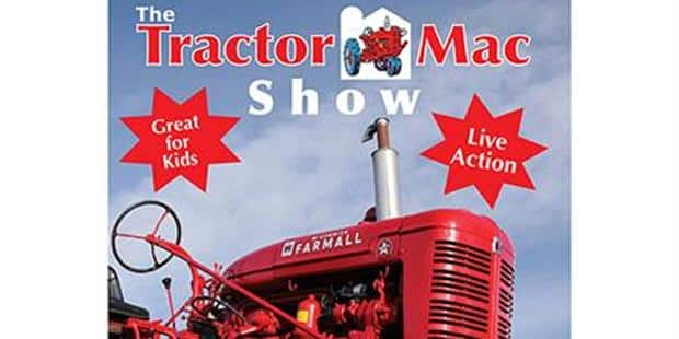 """The Tractor Mac Show"" DVD Introduces Kids to Tractors, Case IH"
