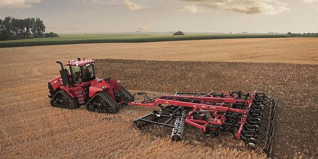 New Case IH Ecolo-Tiger 875 for Heavy Residue, Level Output