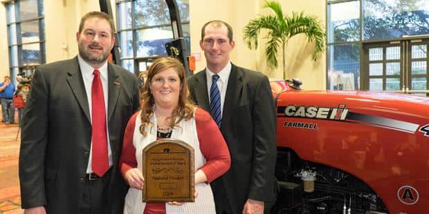 Idaho Farmers Win Case IH Farmall Tractor