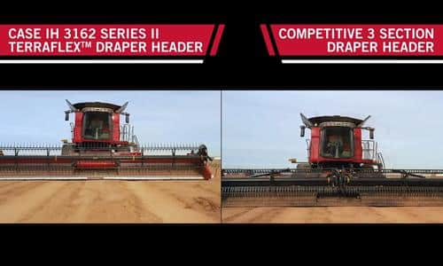 Axial-Flow<sup>®</sup> Draper Head Comparison