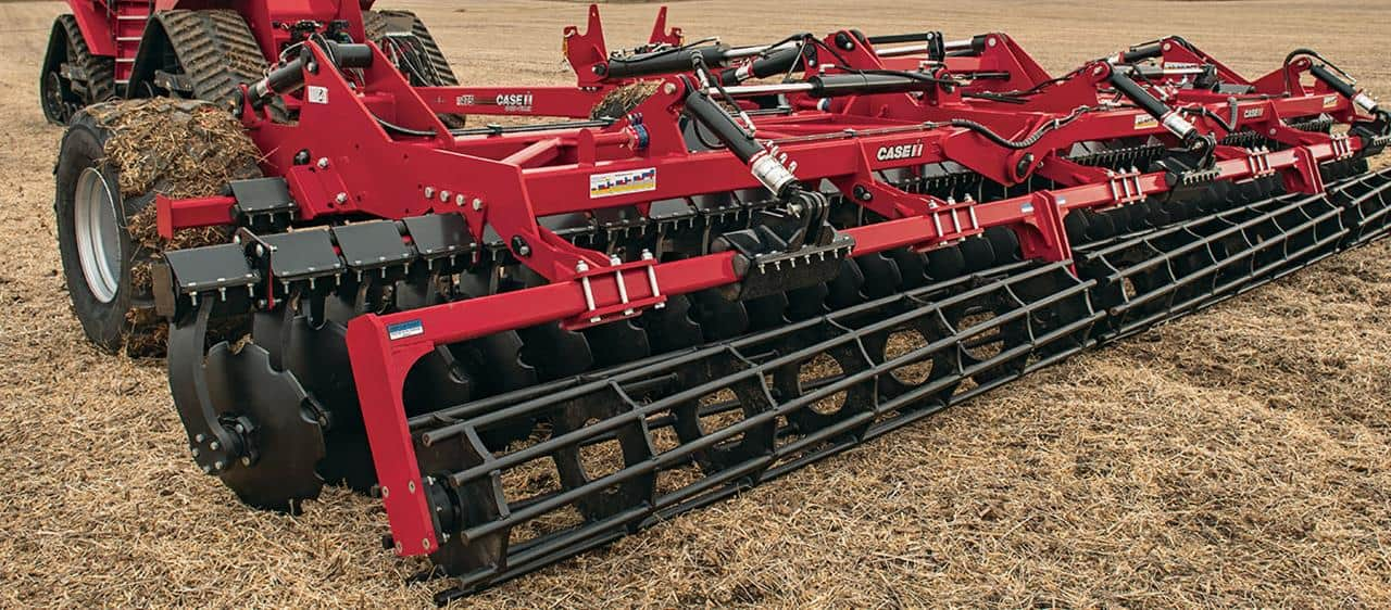 First Look:  Case IH Sped-Tiller High-speed Disk