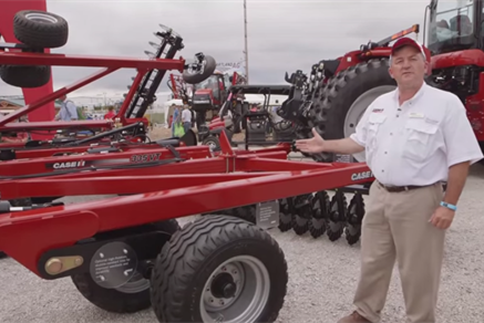 Farm Progress 2014: Case IH True-Tandem 335VT Walkaround