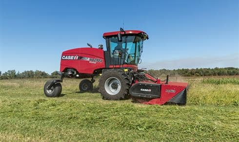 Rotary Disc Headers | Windrowers & Swathers | Case IH