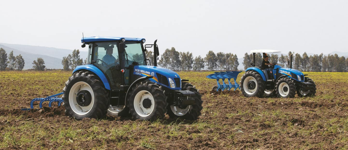 Mécanisation New Holland Agriculture