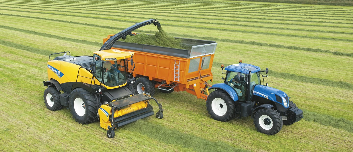 Tier 4 New Holland Agriculture