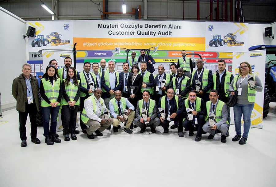 New Holland Blue Days winning salespersons in Istanbul | NHAG
