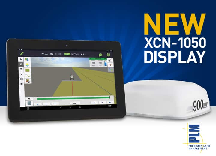 New XCN-1050 Display