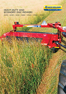 H6000 Heavy-Duty Disc Mowers - Brochure