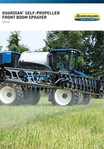 Guardian™ Self-propelled Front Boom Sprayer - Brochure